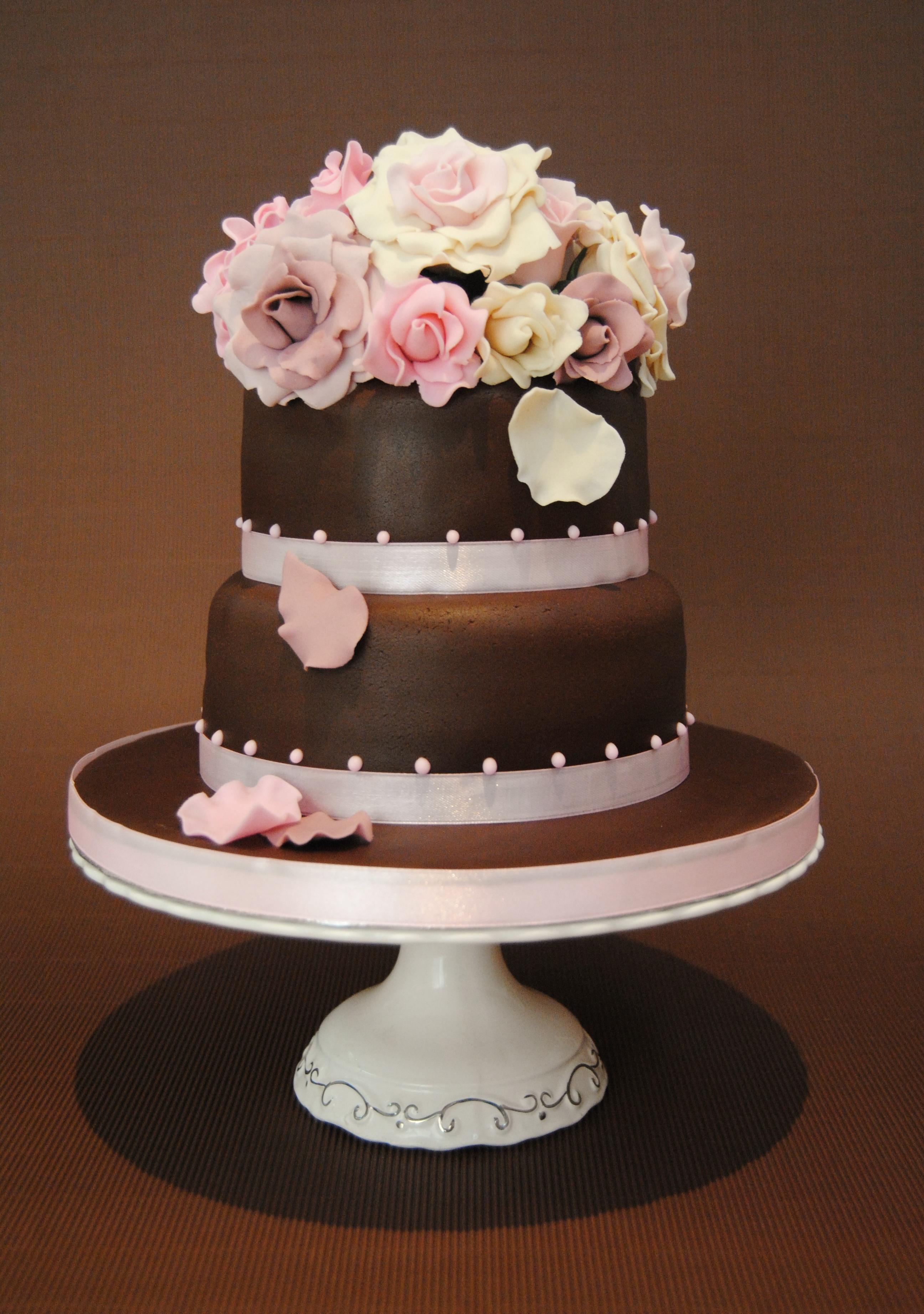 Bolo De Rosa Cake Ideas and Designs