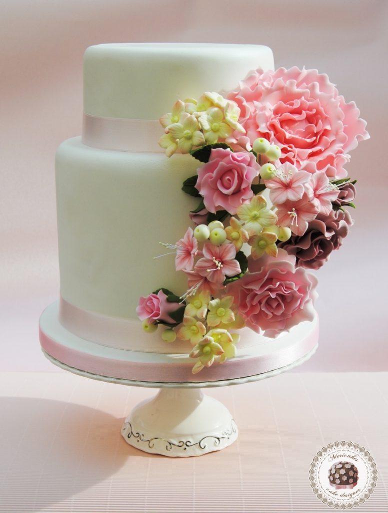 wedding-cake-flores-flowers-rosas-peonia-petunias-hortensias-tarta-boda-bride-sugarcraft-sugarpaste-pasta-de-azucar-mericakes-reposteria-creativa