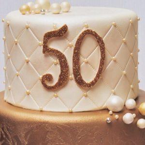 Tarta 50º aniversario para la revista Sposabella.