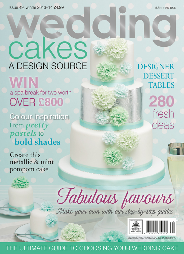 Rivista Cake Design Wedding : Prensa: Revista Wedding cakes n? 49 UK - Mericakes - Cake ...
