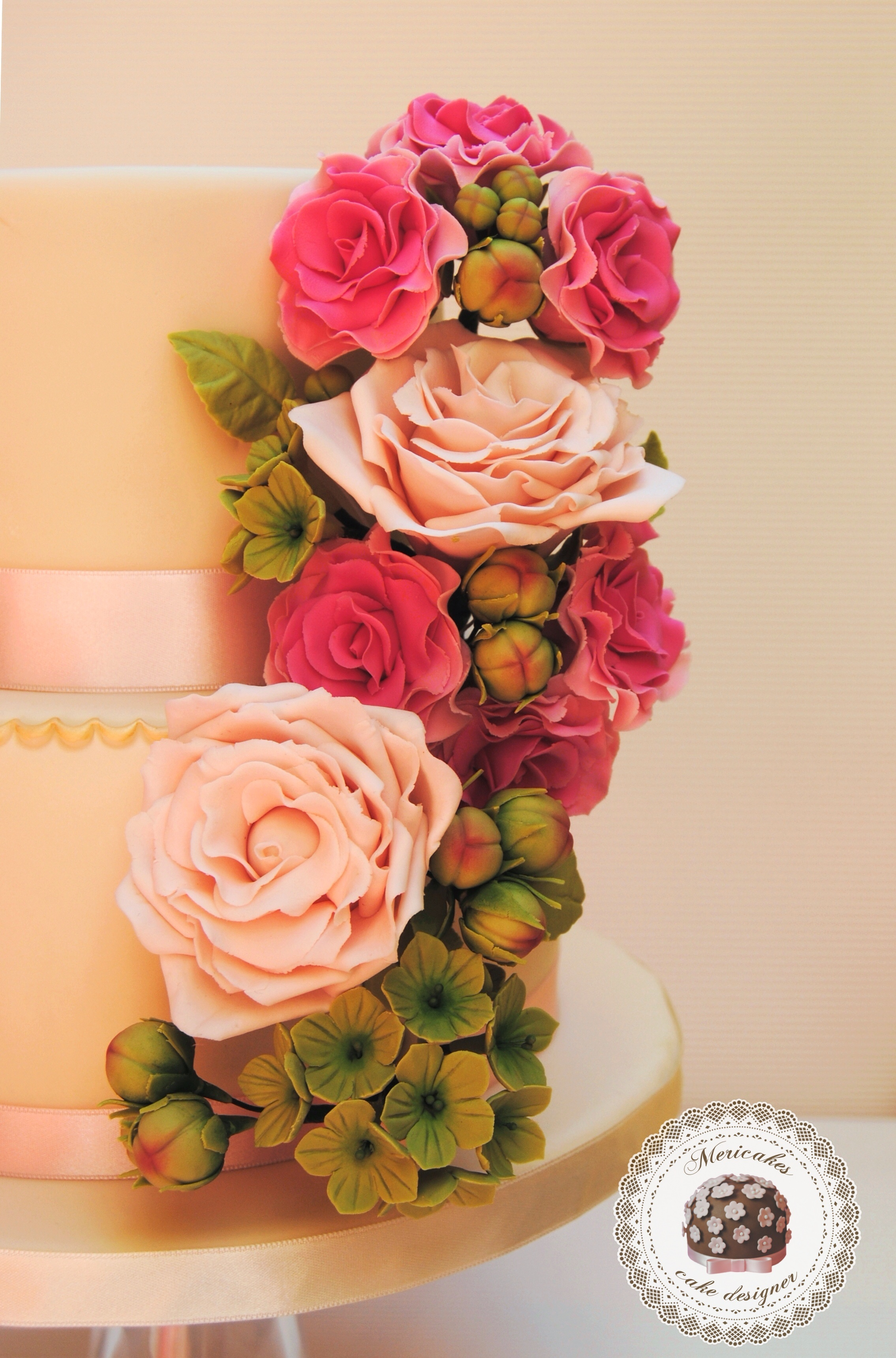 De Boda Wedding Cake Design Weddbook Tiffany Azules