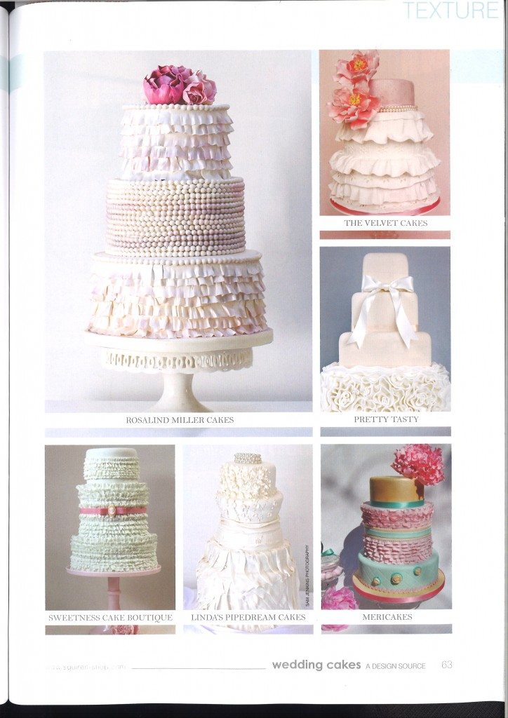 Rivista Cake Design Wedding : Prensa: Revista Wedding cakes n? 50 UK - Mericakes - Cake ...