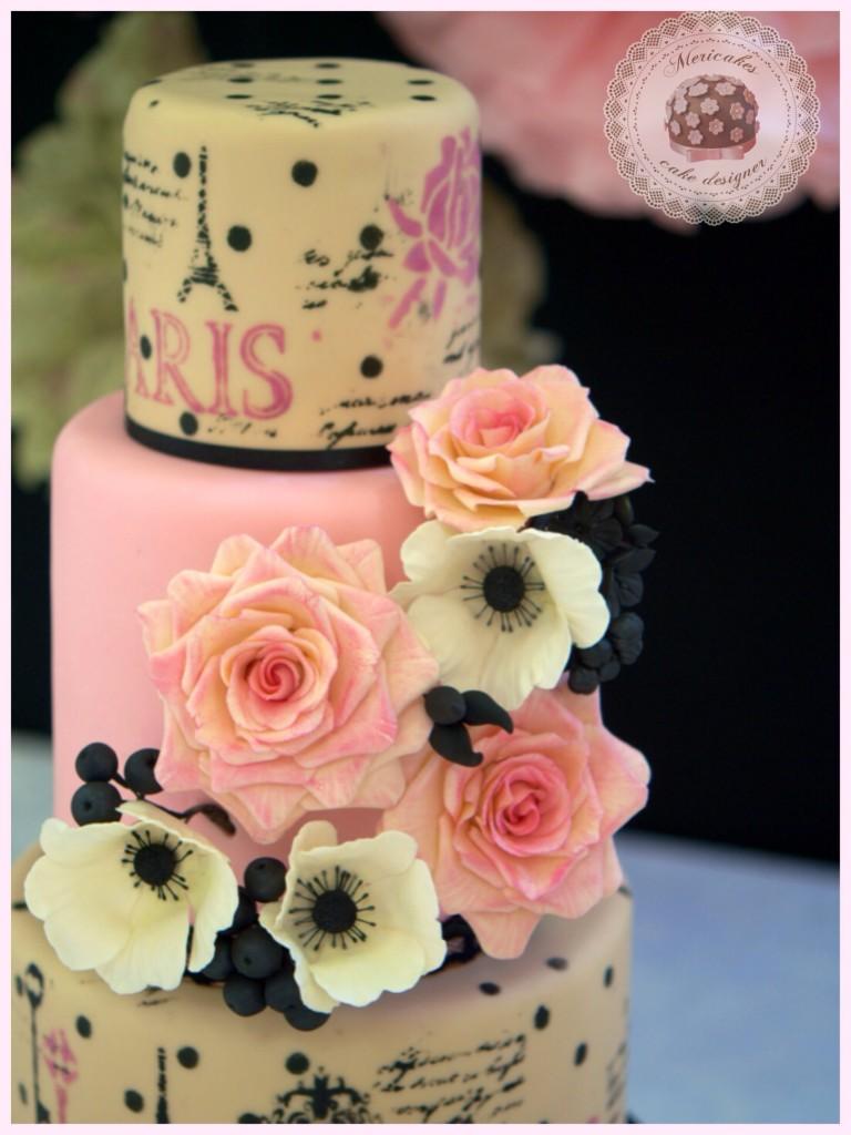 Fotos de decoracion de tortas sencillas 96
