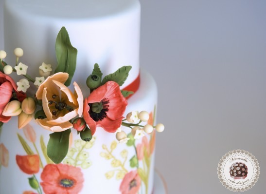 wedding-cake-fondant-tarta-de-boda-painted-cake-sugar-flowers-barcelona-mericakes-summer-dream-tulip-poppy-tulipan-amapola-muguet-lilis-del-valle-lily-of-the-valley-sugarcraft-2_fotor