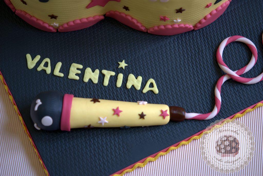 tarta, ocho, kawaii, eight, rainbow cake, microfono, barcelona, naranja, chocolate, mericakes, fondant (5)