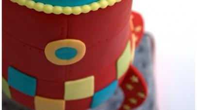 Rocket gravity cake 3D  (Tarta cohete espacial 3D)