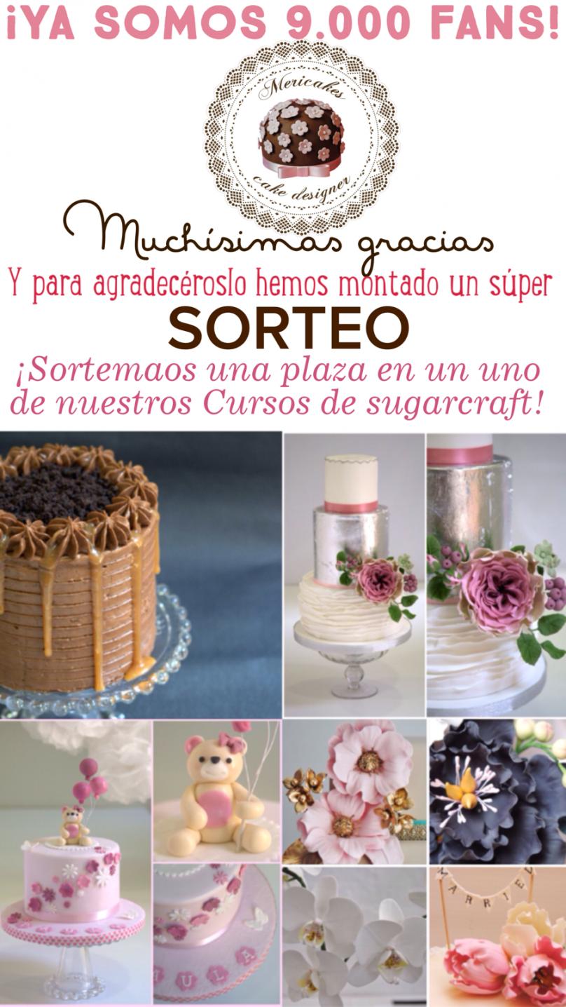 sorteo-9000-fans-mericakes-barcelona-cake-designer