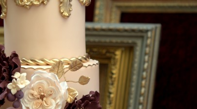 Baroque Love Wedding cake