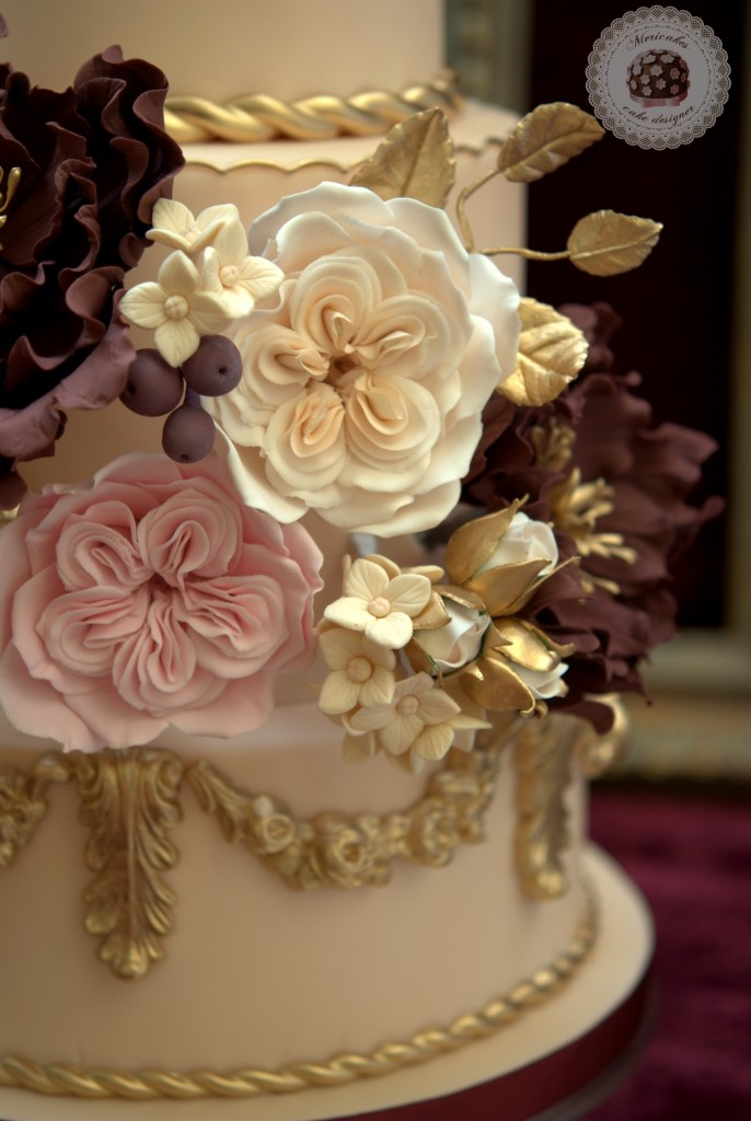 baroque love wedding cake, Mericakes (17)