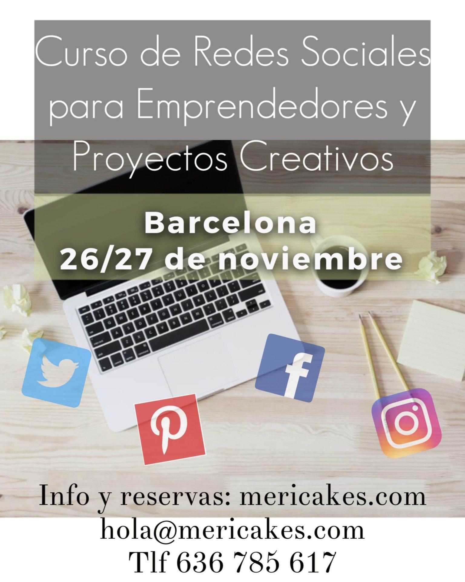 curso-redes-sociales-para-emprendedores-y-proyectos-creativos-comunity-manager-marketing-seo-barcelona-mericakes-taller-autonomos-empresas