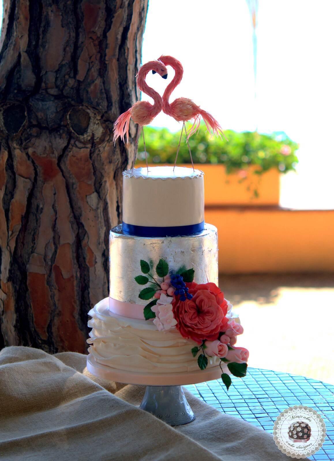 flamingo-love-flamencos-wedding-cake-costa-brava-bodas-reales-mericakes-barcelona-tarta-de-boda-luxury-weddingcake-3