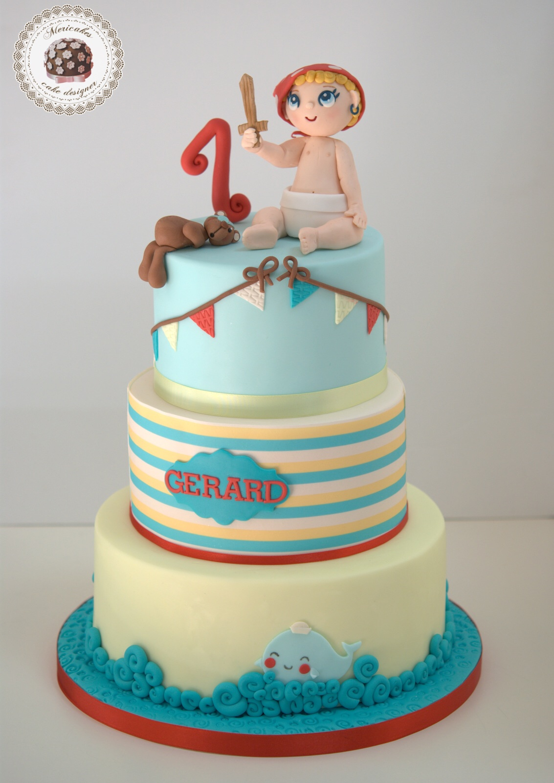 tarta-infantil-baby-cake-pirate-kawaii-tartas-barcelona-mericakes-pirata-marinera-sailor-cake-decorating-6