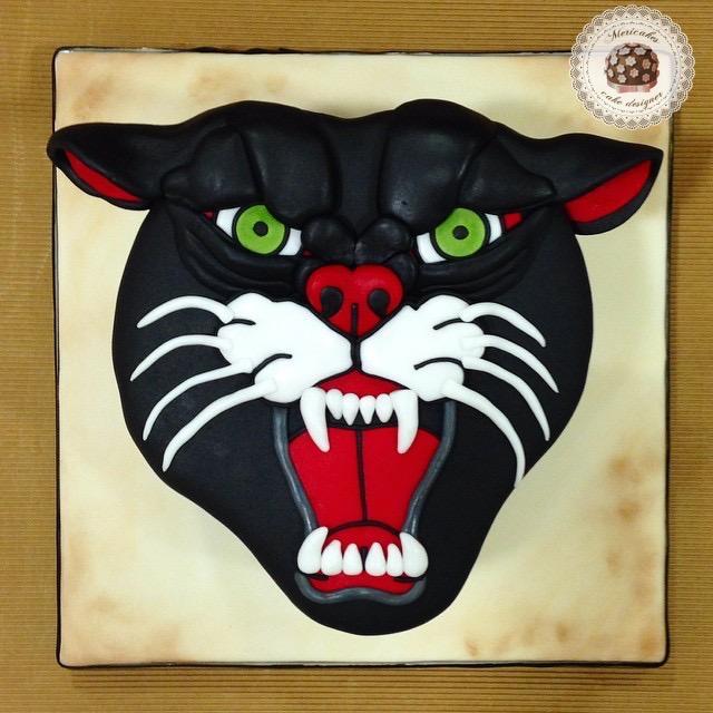 tattoo-traditional-tradi-panther-tarta-cake-pantera-tatuaje-mericakes-barcelona-norte-chocolate-reposteria-creativa-sugarcraft-fondant
