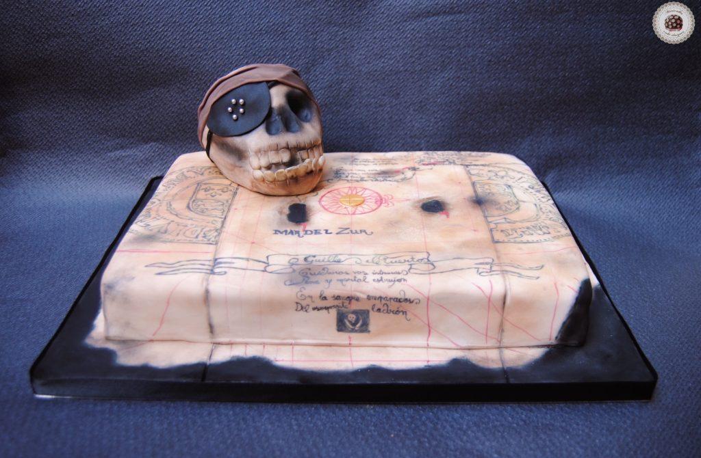 the-goonies-willy-el-tuerto-mapa-pirata-cake-tarta-calavera-skull-treasure-map-steven-spilberg-cake-mericakes-barcelona-fondant-tartas-barcelona-geek-cake