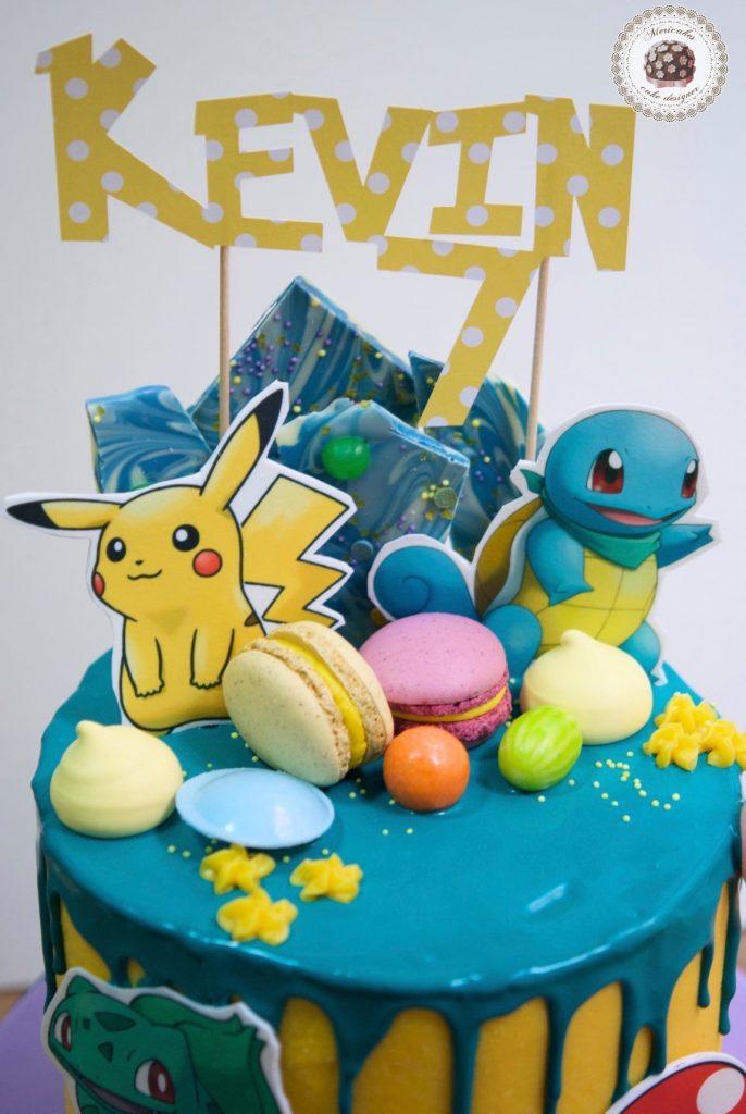 drip-cake-pokemon-pikachu-bulbasaur-charmander-tartas-decoradas-mericakes-barcelona-macarons-chocolate-pastel-de-cumpleanos-tartas-personalizadas-2