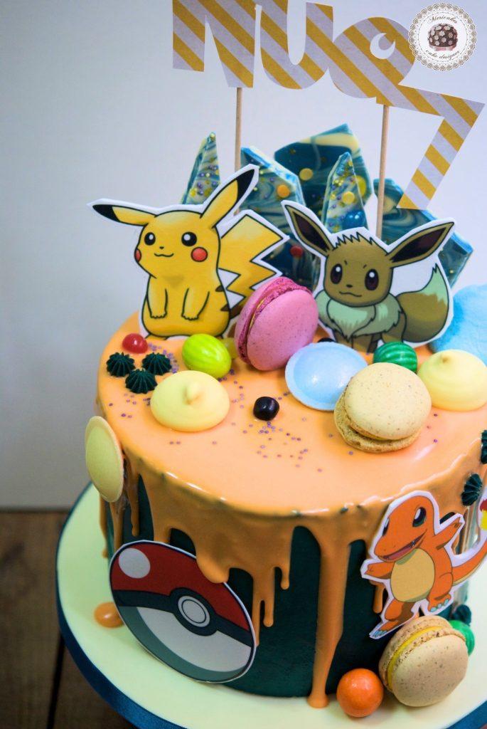 drip-cake-pokemon-pikachu-bulbasaur-charmander-tartas-decoradas-mericakes-barcelona-macarons-chocolate-pastel-de-cumpleanos-tartas-personalizadas-3