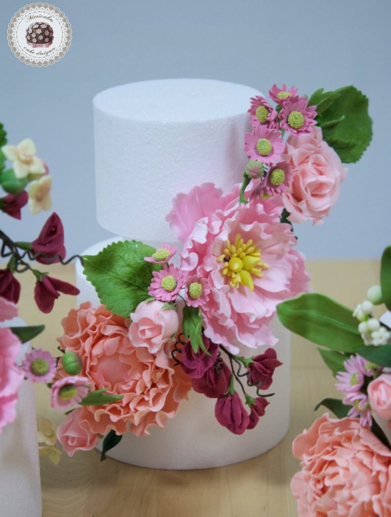 how to make sugar flowers for wedding cakes 1era edici 243 n master class quot wedding sugar flowers quot 5001