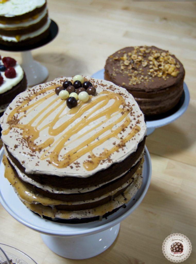 Curso bizcochos y rellenos, escuela, pasteleria creativa, mericakes, barcelona, tartas, layer cake, naked cake, pasteles, tartas deliciosas, bizcochos y rellenos, chocolate 2