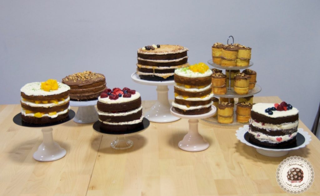 Curso bizcochos y rellenos, escuela, pasteleria creativa, mericakes, barcelona, tartas, layer cake, naked cake, pasteles, tartas deliciosas, bizcochos y rellenos, chocolate 3