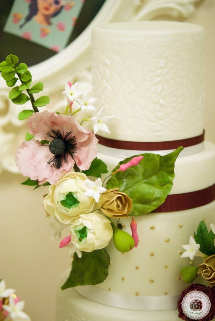 master class love is in the cake, mericakes, alicante, tartas de boda, wedding cake, flores de azucar, curso reposteria, pasteleria creativa, master class, sugarcraft, sugar flowers 19
