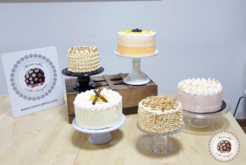 curso, bizcochos y rellenos 2, escuela, barcelona, tartas, layer cakes, naked cake, mericakes, carrot cake, manzana y canela, devils food, bananna y caramelo 10