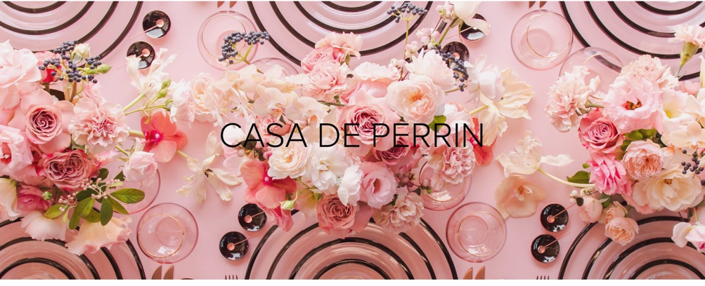 Casa de Perrin, wedding inspiration