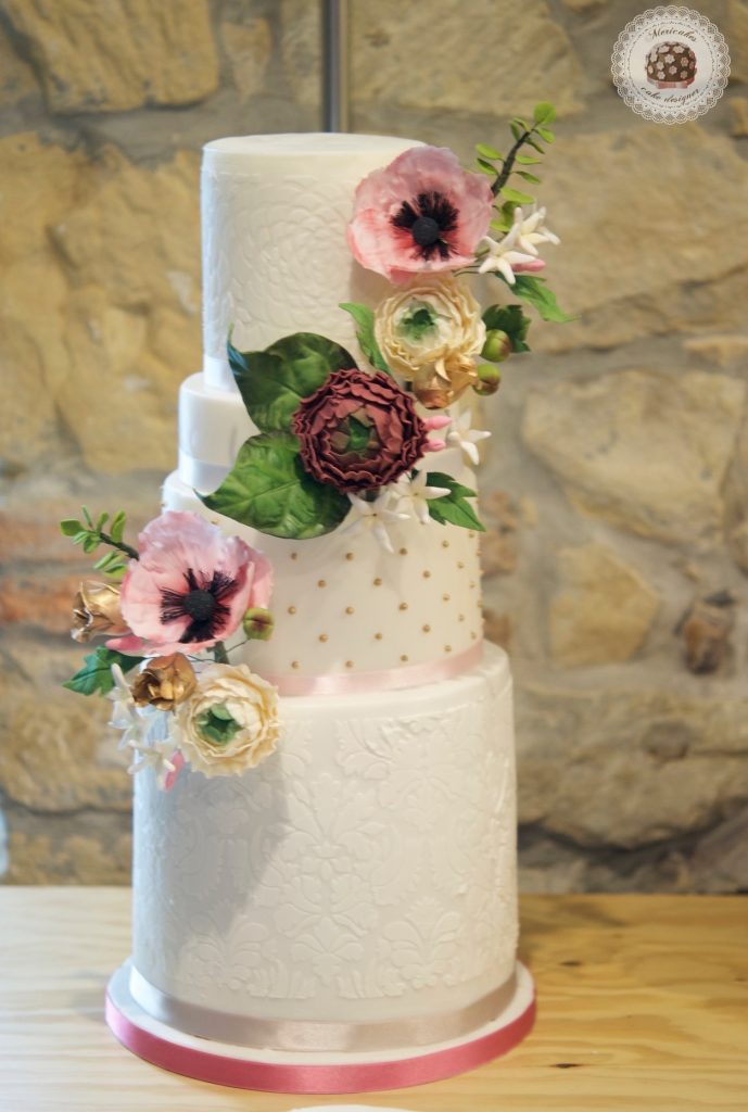 master class love is in the cake, mericakes, bilbao, algorta, pais vasco, tartas de boda, wedding cake, flores de azucar, curso reposteria, pasteleria creativa, master class, sugarcraft, sugar flowers 19