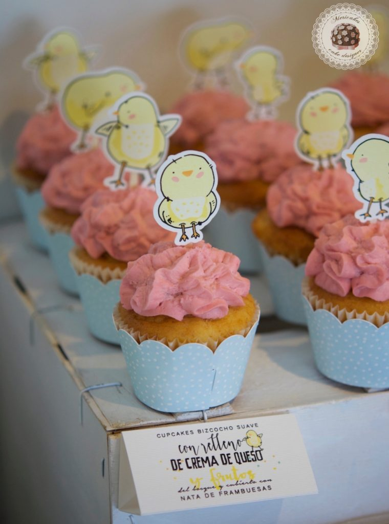 Mesa dulce, baby shower, dessert table, 100 th day, chick, pollito, mericakes, barcelona, eventos, macarons, galletas decoradas, cake pops 11