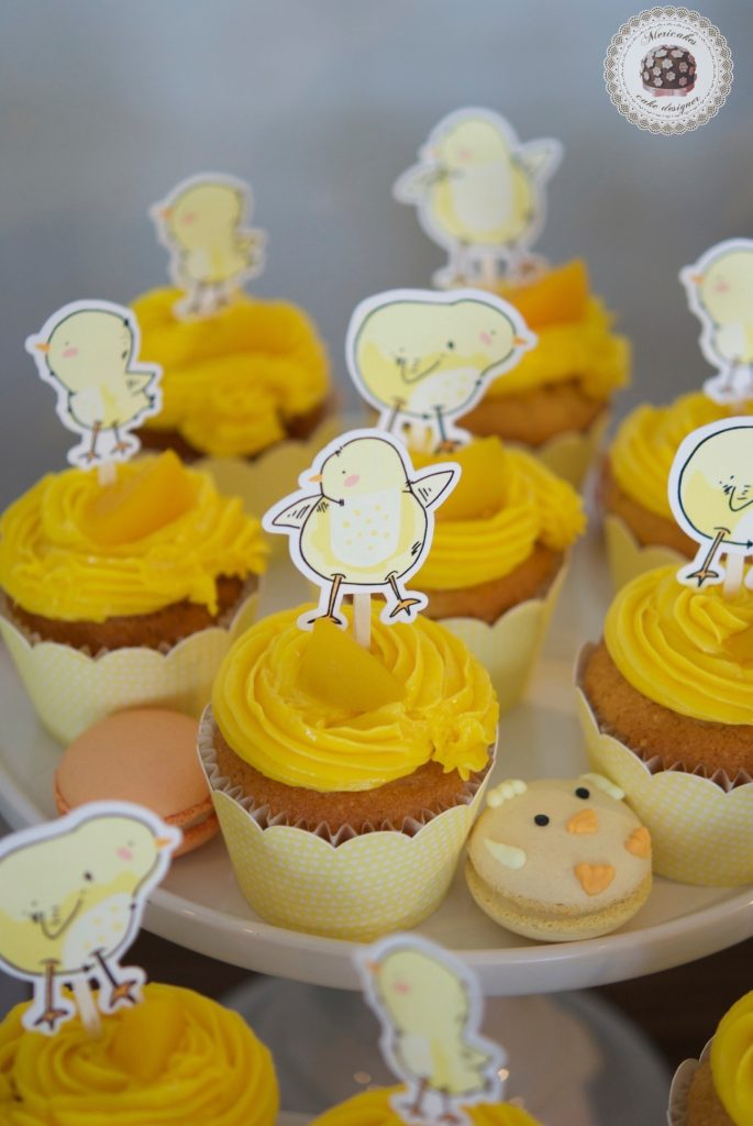 Mesa dulce, baby shower, dessert table, 100 th day, chick, pollito, mericakes, barcelona, eventos, macarons, galletas decoradas, cake pops 19