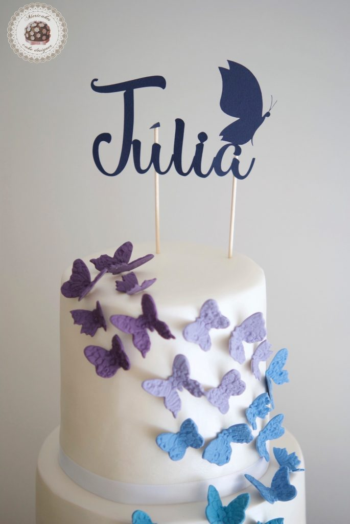 Flock of Butterflies Cake