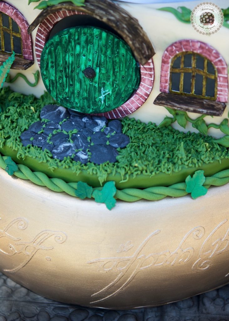 lordoftherings, lotr, lotr cake, wedding, weddingcake, wedding blogger, spain wedding, barcelona, mericakes, tarta de boda, el senor de los anillos, jrrtolkien, minas tirith 3