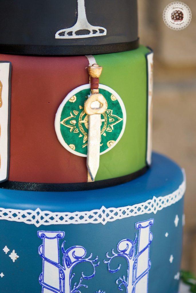 lordoftherings, lotr, lotr cake, wedding, weddingcake, wedding blogger, spain wedding, barcelona, mericakes, tarta de boda, el senor de los anillos, jrrtolkien, minas tirith 4