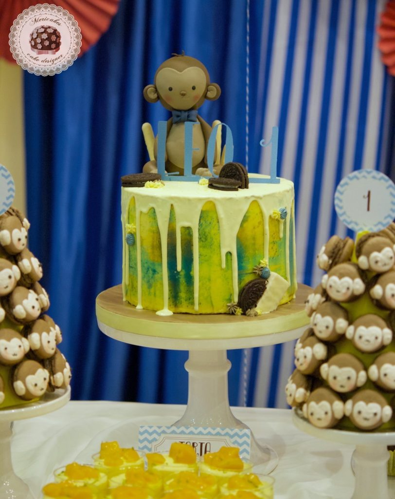 Baby Monkey Dessert Table