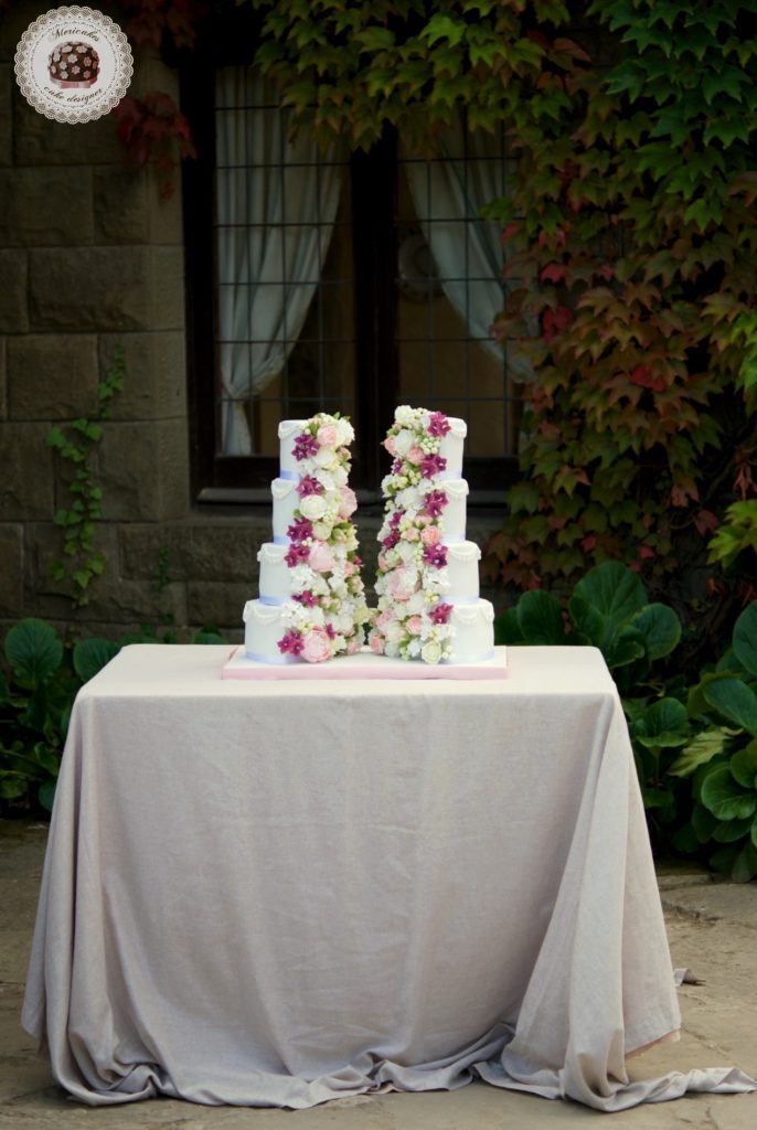 Sugar Flowers, Vegan, Wedding Cake