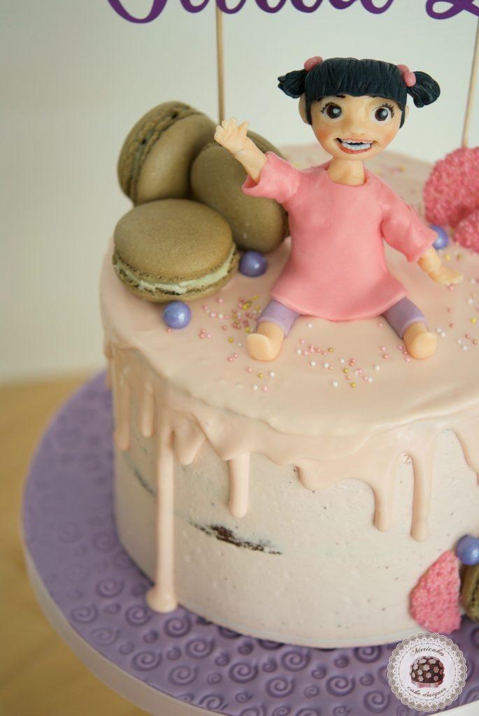 Baby Drip Cake, tartas barcelona, mericakes, chocolate, modelado, tarta cumpleanos, birthday cake 1