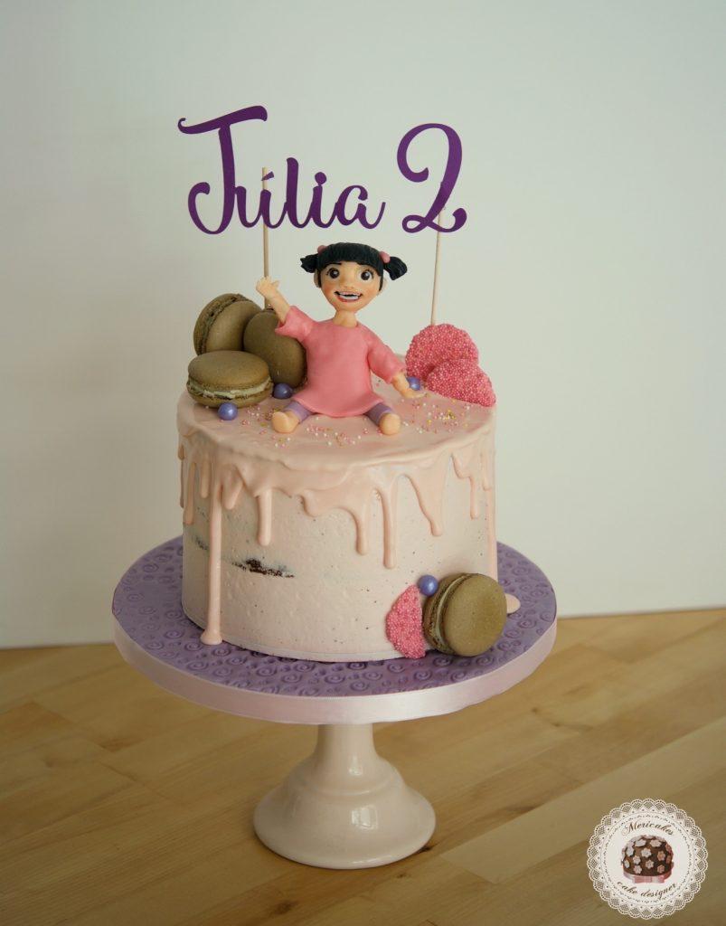 Baby Drip Cake, tartas barcelona, mericakes, chocolate, modelado, tarta cumpleanos, birthday cake