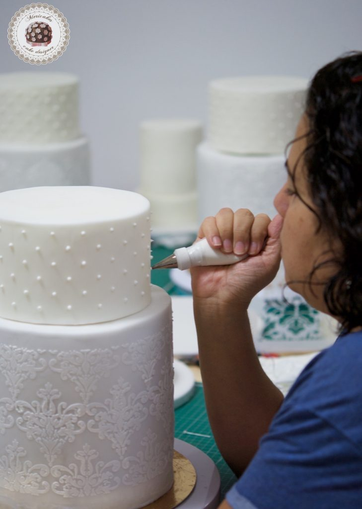master class love is in the cake, tartas de boda, curso, escuela, sugarcraft, mericakes, barcelona, cake designer, flores de azucar, sugarcraft school 5