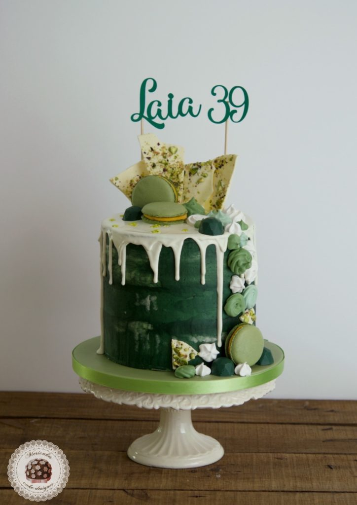 Drip Cake Green Love