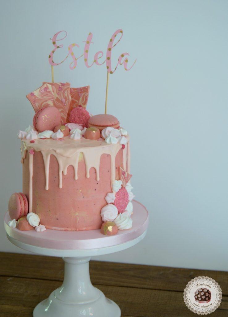 Pink Champage Cake