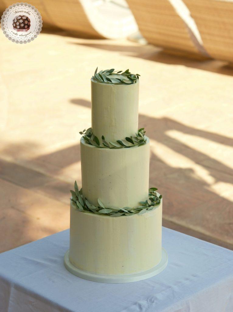 Olive Wedding Cake