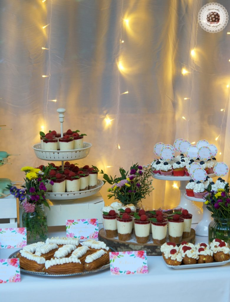 Summer dessert table