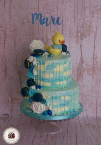 Rubber Duck Drip Cake