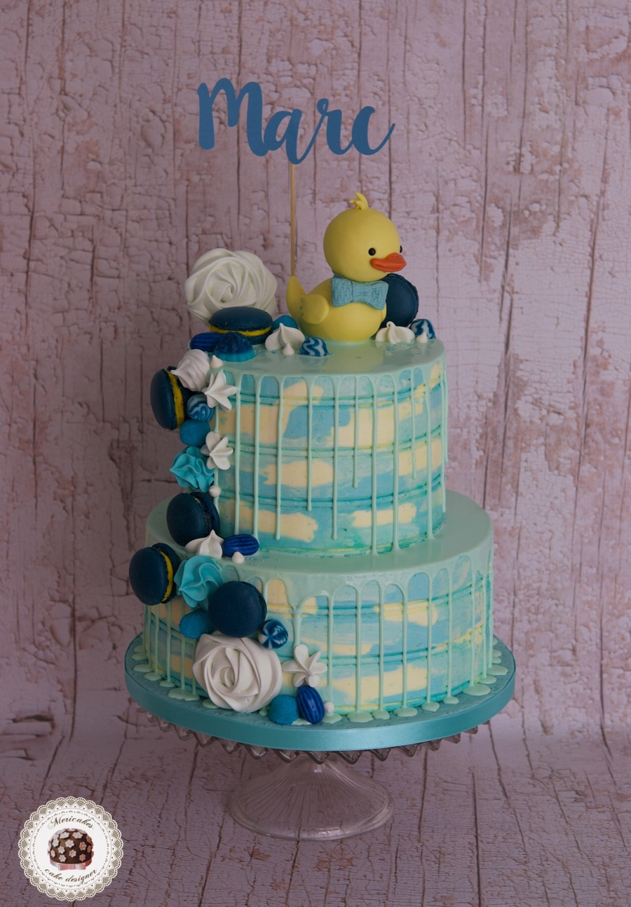 Rubber Duck Drip Cake