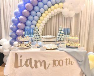 Dessert Table 100 days