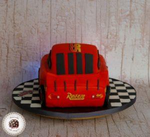 Rayo mcqueen cake