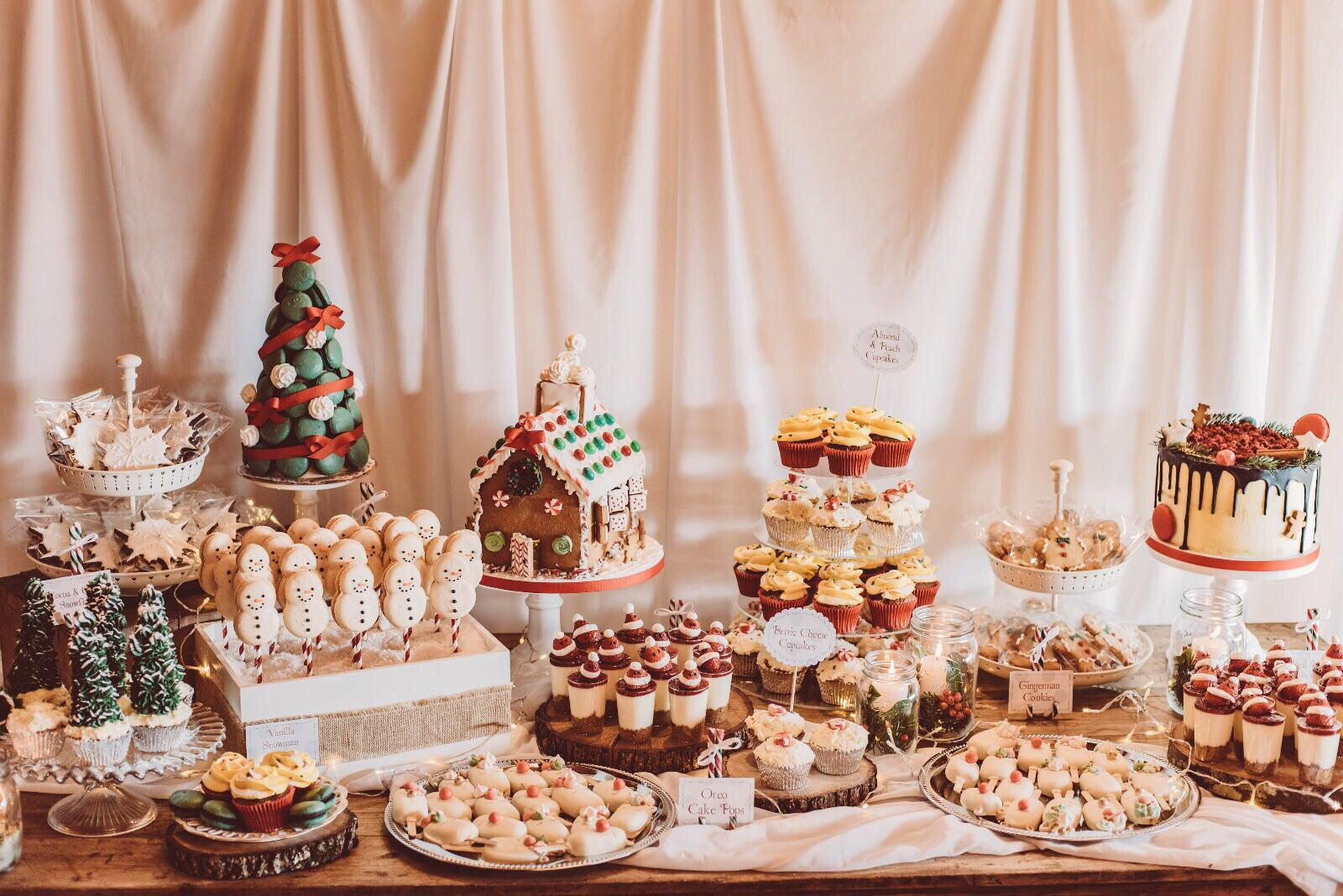 Sweet Christmas Table
