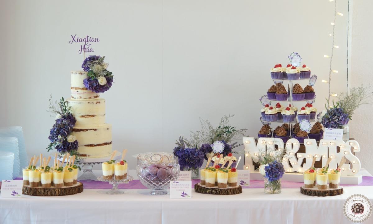 Lavender Sweet Table