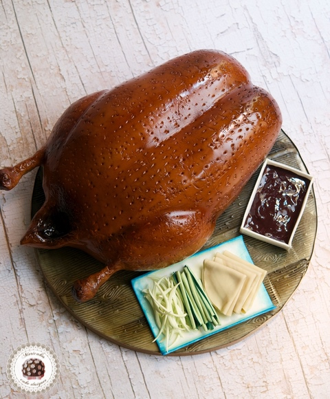 Peking Duck Cake
