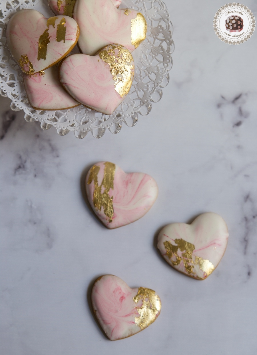 Marble Wedding Cookies