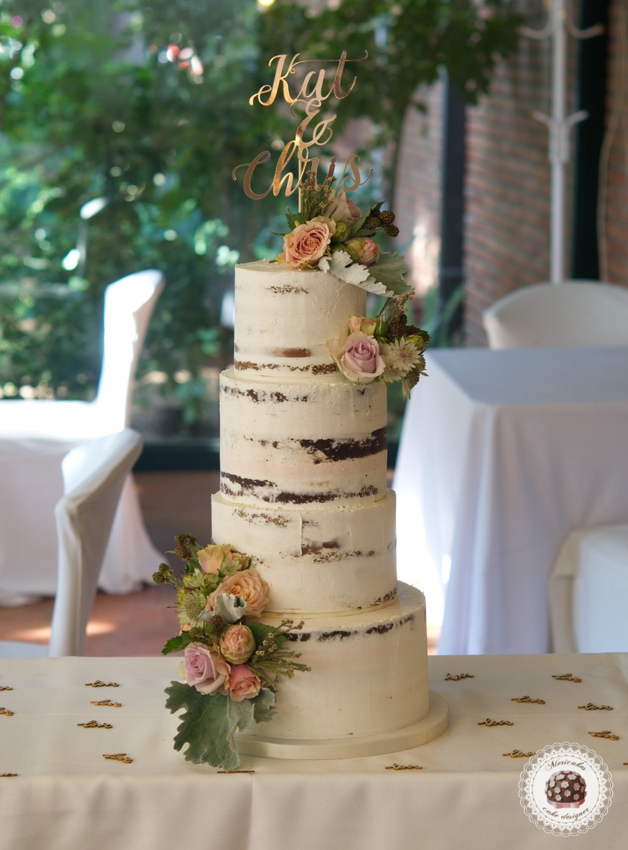 Vegan wedding cake